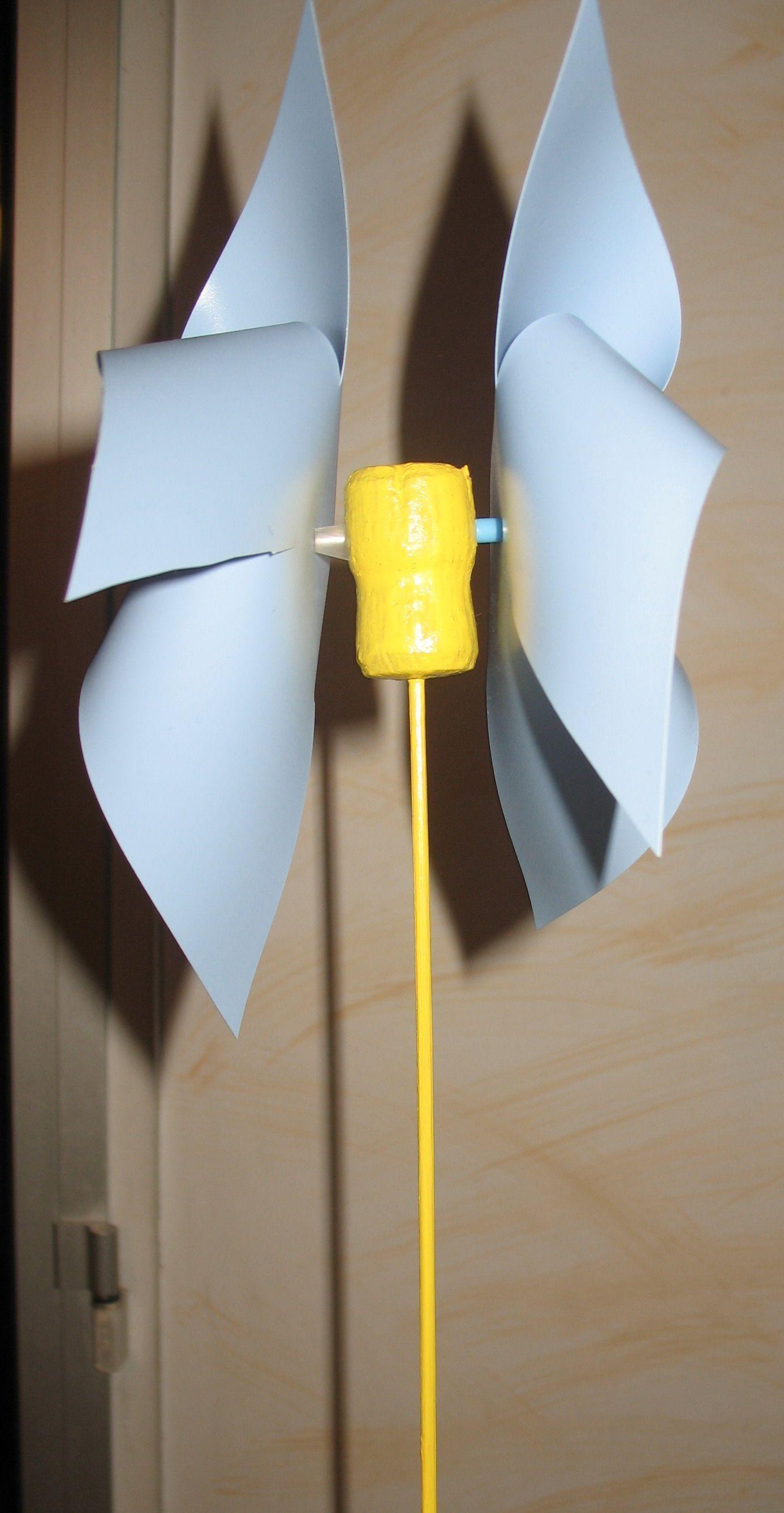 Farandole de loisirs - Comment fabriquer un moulin a vent en papier ...